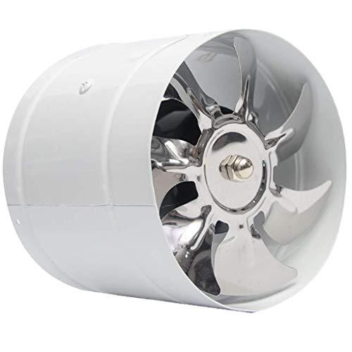 Deckenventilator Lüftungs Extractor 150mm Rundrohr Abzugshaube Küche Fume Ventilator Powerful Badezimmer Mute Niedriger Energieverbrauch Starke Ventilation (Größe: B) Leistungsstarke Abluftventilator