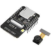 QooTec ESP32-CAM WiFi + Bluetooth Kamera Modul Development Board ESP32 mit WiFi Bluetooth Kamera OV2640 IoT Arduino EU030