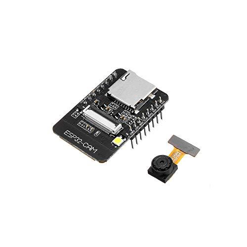QooTec ESP32-CAM WiFi + Bluetooth Kamera Modul Development Board ESP32 mit Wifi Bluetooth Kamera OV2640 IoT fur Arduino EU030
