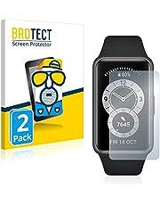 BROTECT 2x Antireflecterende Beschermfolie compatibel met Huawei Band 6 Anti-Glare Screen Protector, Mat, Ontspiegelend