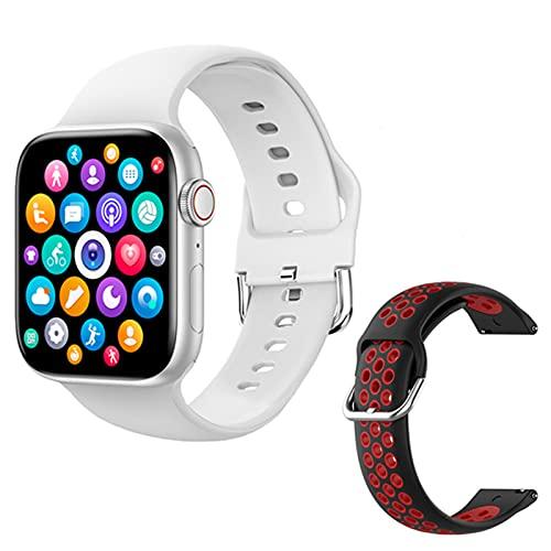 LLM T800 Smart Watch para Hombres Y Mujeres 1.72 Pulgadas Pantalla Bluetooth Llamada Dual UI DIY Dial Tiempo Pronosticado Smart Watch para Mujeres para Android,I