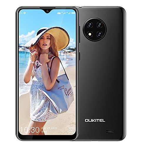 OUKITEL C19 Cellulari Offerte 2020 Android 10.0 4G Smartphone 6,49   Schermo, Batteria 4000mAh, Fotocamera Tripla da 13 MP, 2 GB + 16 GB 256GB Espandibili Quad Core, Dual SIM