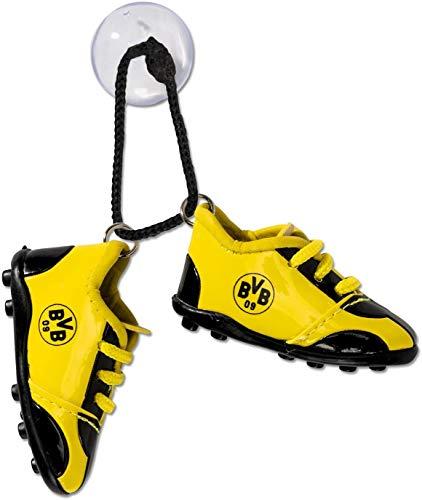 Borussia Dortmund Autoschuhe / Fussball Schuhe fürs Auto BVB 09 - plus gratis Aufkleber forever Dortmund