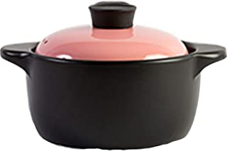 ZXYY Casserole Pots Ceramic Cookware Dutch Oven Ceramic Pot High Temperature Cooking Durable Safe and Efficient Easy to Cl...