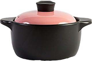LLFFDC Casserole Cookware Ceramic Cookware Dutch Oven Ceramic Pot, High Temperature Firing, Durable, Safe and Efficient, E...