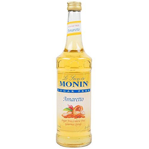 Monin Sugar Free Amaretto Syrup, 750 ml