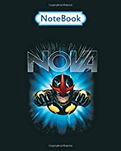 Notebook: marvel nova guardians of the galaxy hero graphic - for men woman Journal/Notebook Blank Lined Ruled 100 pages 8x10 inches