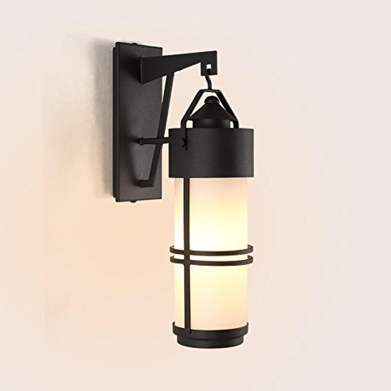 StiefelU LED Wandleuchte nach oben und unten Wandleuchten Retro Auen-Wandleuchten wasserdicht Terrasse lampe glas Passage Korridore Balkon Wandleuchte