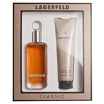 Lagerfeld Cologne By KARL LAGERFELD Gift Set - 3.3 oz Eau De Toilette Spray + 5 oz Shower Gel FOR MEN