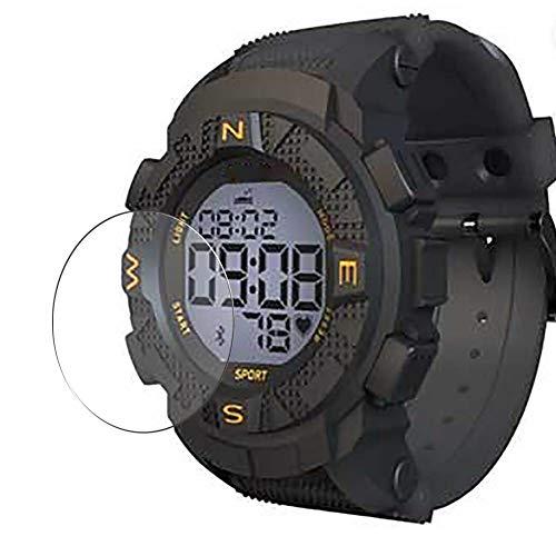 Vaxson 3 Stück 9H Panzerglasfolie, kompatibel mit Lenovo EGO Smartwatch smart watch, Panzerglas Schutzfolie Displayschutzfolie Bildschirmschutz
