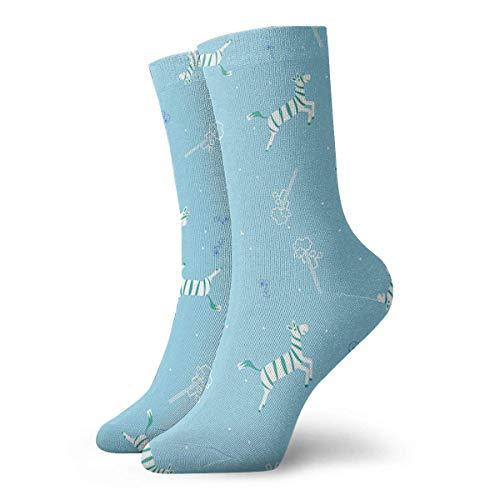 Drempad Luxury Sportsocken Flying Horse Women & Men Socks Soccer Sock Sport Tube Stockings Length 11.8Inch