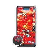 atFolix Schutzfolie kompatibel mit Wiko View 2 Plus Folie, entspiegelnde & Flexible FX Bildschirmschutzfolie (3X)