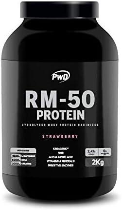 RM-50 Protein 2Kg. (Strawberry): Amazon.es: Salud y cuidado ...