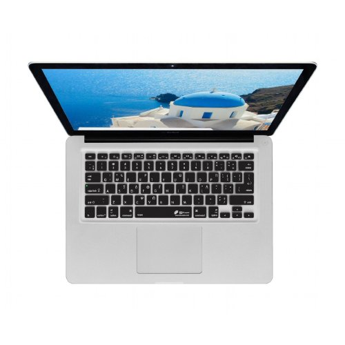 KB Covers GREEK-M-CB-2 - cubierta del teclado griego QWERTY, para el uso con MacBook 13