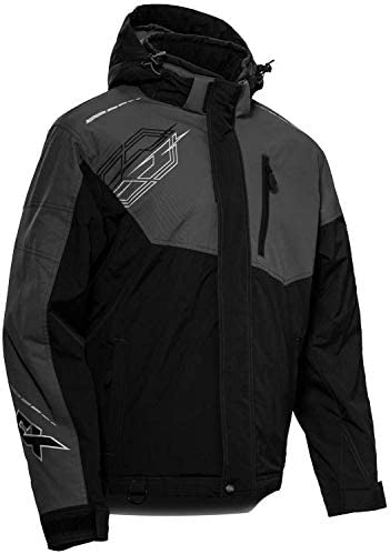 Castle X Men's Phase Jacket in Black/Charcoal Size 2XL