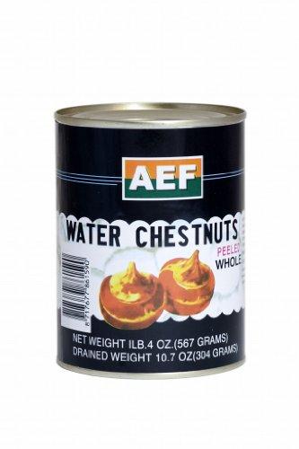 AEF - Ganze Wasserkastanien - 567g / ATG 340g - Water chestnuts