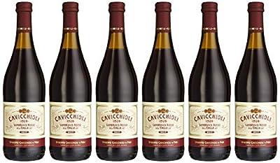 Cantina Cavicchioli Lambrusco del Emilia amabile (6 Flaschen), 6er Pack (6 x 750 ml)