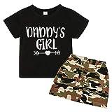 bebé niña Conjunto de Ropa de Verano para bebé y niña Tops + Faldas y Faldas pantalón Conjunto de Ropa