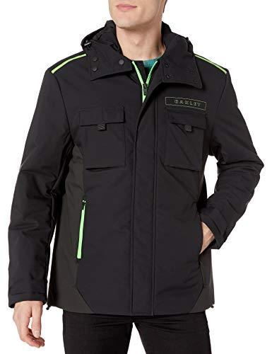 Oakley Men's Mountain Cargo Jackets,X-Large,Blackout