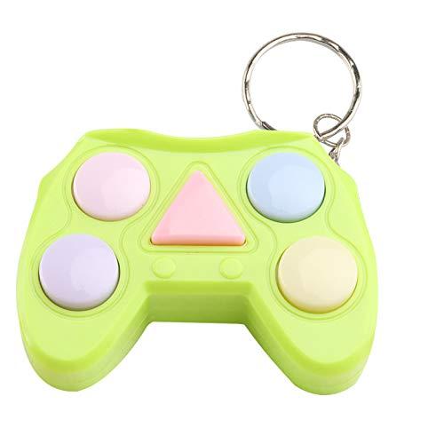 Manette de jeu à LED, jouets électroniques, jeux de mémoire, contrôleur de soulagement de l'anxiété, porte-clés jouets pour enfants et adultes, besoins...