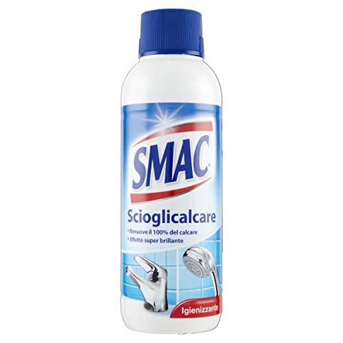 Smac Scioglicalcare Gel, Detergente Anticalcare Bagno, Azione Igienizzante e Brillantezza, 500 ml