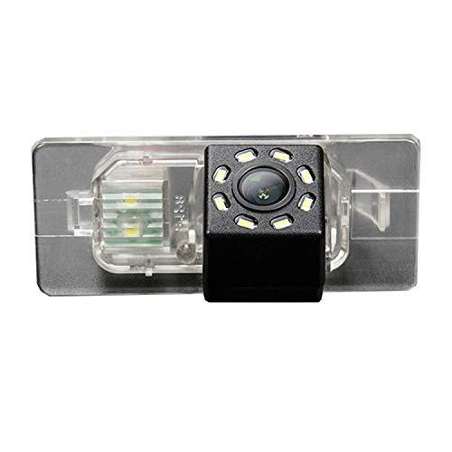 HD 720p Nachtsicht Rueckfahrkamera Wasserdicht Farbkamera 170° Rückfahrkamera Kennzeichenleuchte Einparkhilfe Kamera für Audi A3 8P 8V S3 A4 B6 B7 B8 S4 A6 C6 S6 RS6 A8 RS4 TT 8N Q3 Q5 Q7