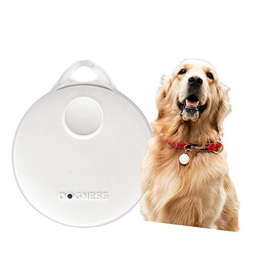 Key Finder Smart Tracker Bluetooth Tracker voor honden, kinderen, katten, bagage, portemonnee, APP-controle voor honden en huisdieren Activity Monitor Waterproof Tracking Device