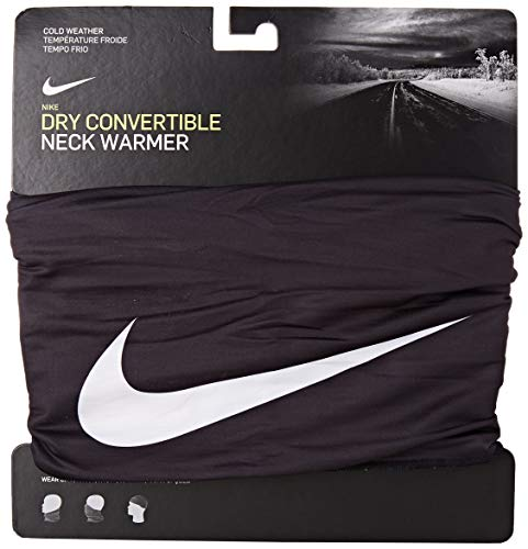 Nike Scaldacollo Convertible Tubo Multiuso Bandana Taglia Unica - Nero