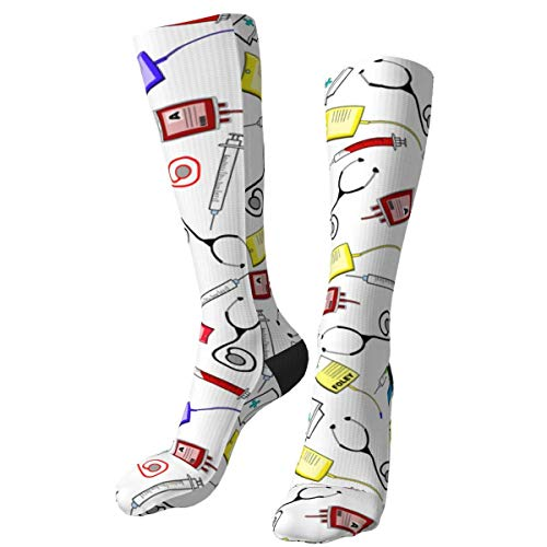 RROOT Lustige Socken für Krankenschwestern, für Männer und Frauen