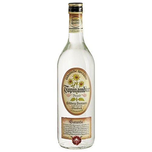 Original Topinambur Höllberg 40% vol, (1 x 1 Liter) edler Brand ohne Aromastoffe | Premium Brand | Edelbrand aus Familienbrennerei