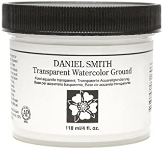 DANIEL SMITH 284055011 Watercolor Ground, 4 oz, Transparent