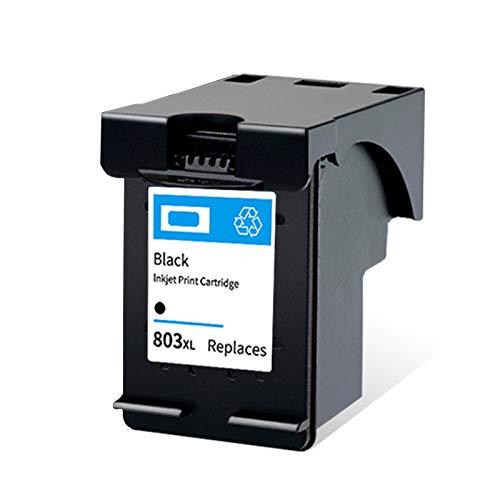 Cartucho de tinta 803XL, repuesto para impresoras HP Deskjet 2132 1112 2131 1111 2623 Envy 5020 Officejet 5220 5264, negro y tricolor negro