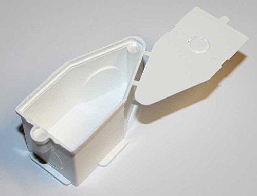 10 Stück Wandauslaß für Elektoinstallation mit Declen in weiß 60x31x31mm (1 Stück)