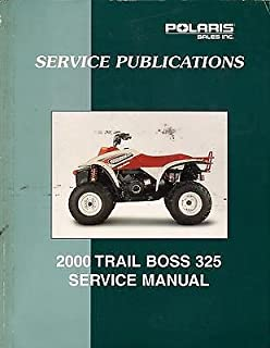 Best 2000 polaris trail boss 325 service manual Reviews