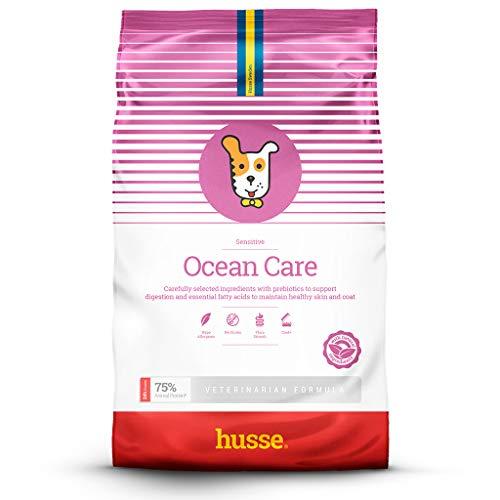 Husse - Ocean Care 12,5 Kg | Pienso para Perros | Función Gastrointestinal y Hipoalergénica | Sabor Salmón Ingredientes