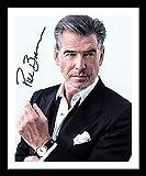 DS Pierce Brosnan - James Bond Autogramme Signiert Und