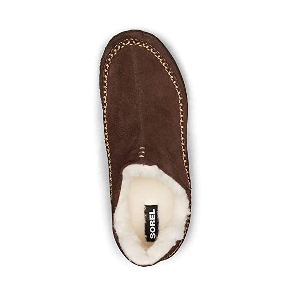 Sorel Men's Manawan II Slippers, Tobacco/Elk, Brown, 7 Medium US
