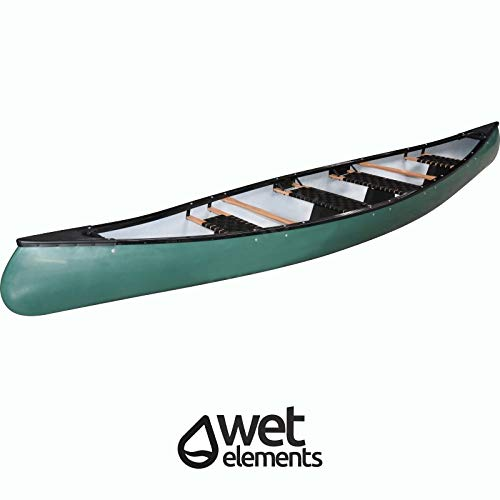 Saarwebstore Wet-Elements Kanu North Lake IV grün für 4 Personen Kajak Paddelboot Freizeitkanu Tourenkanu Canadier