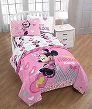 Disney Minnie Mouse Girls Twin Bedding Sheet Set