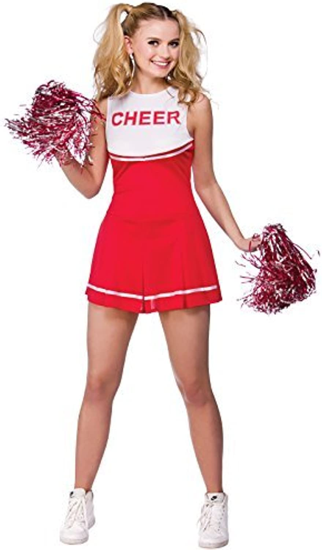 gran venta High School Cheerleader Univerity Adult Adult Adult Fancy Dress XSmall School Costume by Wicked Wicked  despacho de tienda