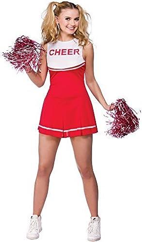 Envio gratis en todas las ordenes High School Cheerleader Univerity Adult Adult Adult Fancy Dress Medium School Costume by Wicked Wicked  tienda en linea