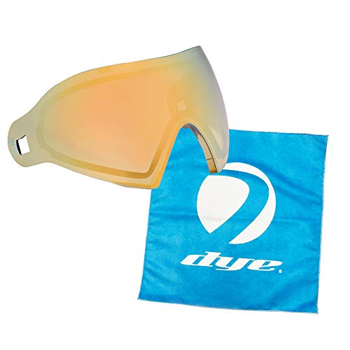 Dye Paintball i4/i5 Goggle Thermal Replacement Lens (Dyetanium Faded Bronze Sunrise + Lens Cloth)