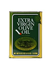San Giuliano Extra Virgin Olive Oil  101-Ounce Tins (Pack of 2)