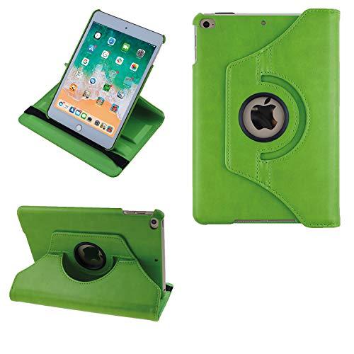 COOVY 2.0 Funda para Apple iPad Mini 5 (Model 2019) Smart 360º Grados ROTACIÓN Cover Case Protectora Soporte Auto Sueño/Estela   Verde