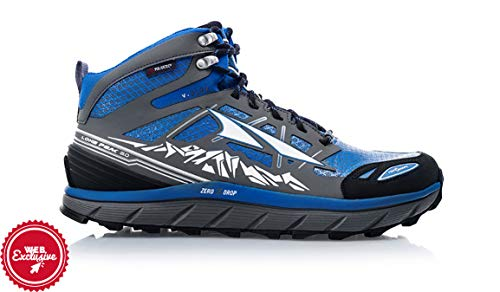 ALTRA Men's Lone Peak 3 Mid Neo Running Shoe, Color: Electric Blue, Size: 11.5, Width: D (A1653MID-3-115-D)