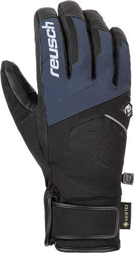 Reusch Beat GTX - Guanti da Uomo, Uomo, 4901340, Black/Dress Blue, 10.5