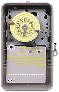Intermatic T101P ON/OFF T100 Series Mechanical Timer Switch 120 Volt AC 40 Amp 24 Hour