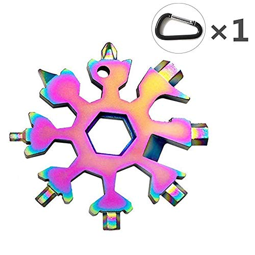 18-in-1 Edelstahl Multifunktionswerkzeug (Bunt)