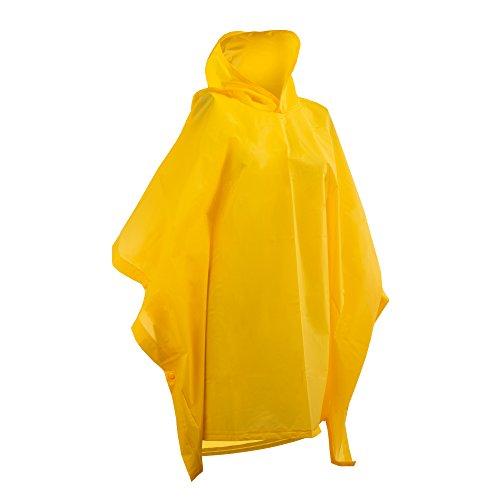 totes unisex child Rain Poncho Belt, Sunshine Yellow, One Size US