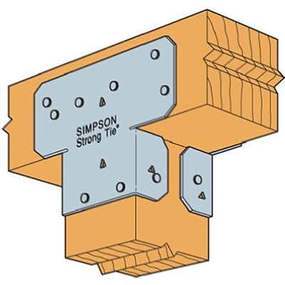 Simpson Strong Tie 1 1 1 18-Gauge 4-Inch Adjustable Post Cap